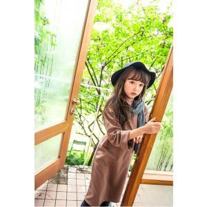 韓国子供服 シンプルワンピース 90cm/100cm/110cm/120cm/130cm/140cm ピンクブラウン|aaahouse