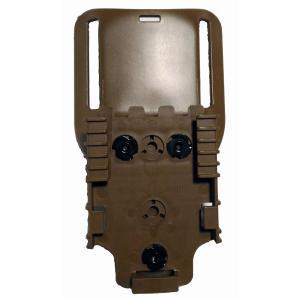 Safariland MID RIDE ベルトループアダプター+QLS22 FDE|aagear