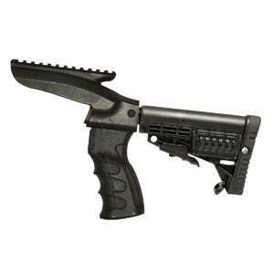 CAA Tactical CA870用スライドストックアダプター,CBSストック,AK47グリップセット(レイルver)|aagear