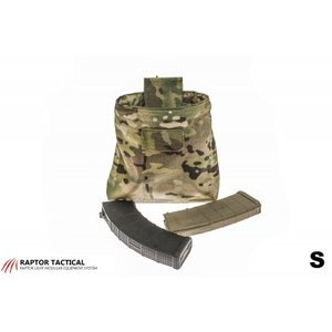 Raptor Tactical Dump Pouch with ChemLight holder [Sサイズ](MOLLE/ベルト対応)