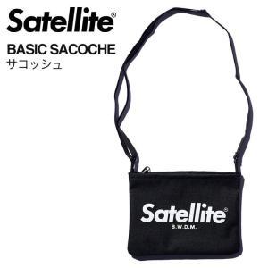 サコッシュ ショルダーバッグ 登山 アウトドア メンズ レディース おしゃれ 斜めがけ サテライト Satellite BASIC SACOCHE|aaminano