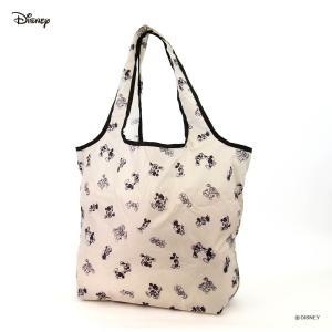 エコバッグ Sサイズ ディズニー ミッキーマウス Disney コンパクト おしゃれ キャラクター 買い物袋 カバン レディース 折りたたみ シフレ ECO0408-DN aaminano