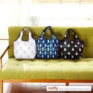 コンビニバッグ エコバッグ 折りたたみ miffy ミッフィー  買い物袋 カバン レディース シフレ ECO0417-B aaminano