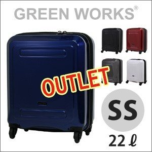 50%OFF アウトレット スーツケース 機内持ち込み SSサイズ 約1日〜2日向き ファスナータイプ TSAロック付 日乃本製キャスター搭載 B5891T-39|aaminano