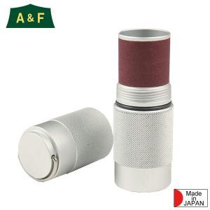 A&F エイアンドエフ 防水アルミマッチボックス シルバー|aandfshop