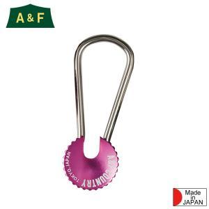 エイアンドエフ A&F カラーエイトリングキーホルダー ピンク|aandfshop