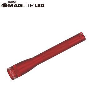 マグライト MAGLITE ミニマグライト 2nd LED 2AA (単三2本) ブリスターパック レッド 懐中電灯 LEDライト SP2203HY|aandfshop