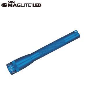 マグライト MAGLITE ミニマグライト 2nd LED 2AA (単三2本) ブリスターパック ブルー 懐中電灯 LEDライト SP2211HY|aandfshop