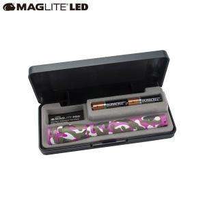 マグライト MAGLITE ミニマグライト 2nd LED 2AA(単三2本) ピンクカモ 懐中電灯 LEDライト SP22RZ7Y|aandfshop