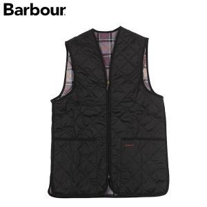 バブアー BARBOUR キルト ジップインライナー MLI0001 ブラック 送料無料|aandfshop