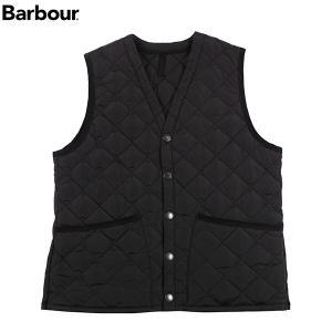 バブアー BARBOUR キルトベストナイロン SMQ0007 ブラック(BK91)|aandfshop