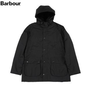 バブアー BARBOUR メンズ フーデッドスリムフィットビデイル MCA0439 ブラック11 送料無料|aandfshop