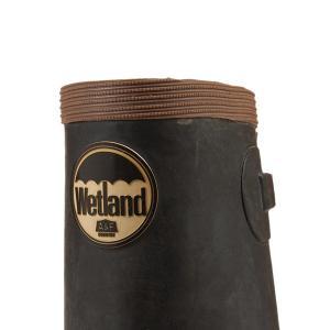 Wetland ウェットランド ウィメンズ 折りたたみ長靴 レッド 女性用|aandfshop|02