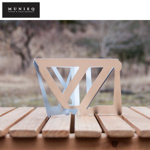 MUNIEQ ミュニーク Tetra Drip 02S レザーケース付き コーヒードリップ 日本製 ...