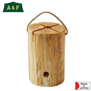 A&F エイアンドエフ ログトーチはログ(丸太)を活用した様々な使い方のできるトーチです。ス...