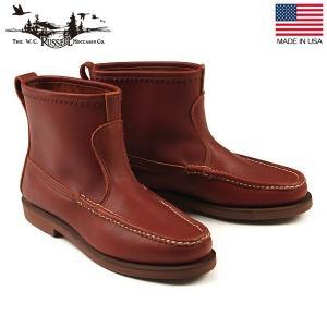 ラッセルモカシン RUSSELL MOCCASIN ノックアバウトブーツ ブラウン アメリカ製 ブーツ 靴 4070-7 送料無料|aandfshop