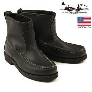 ラッセルモカシン RUSSELL MOCCASIN ノックアバウトブーツ ブラック アメリカ製 ブーツ 靴 4070-7B 送料無料|aandfshop