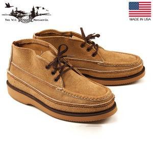ラッセルモカシン RUSSELL MOCCASIN スポーティングクレーチャッカー ララミースエード アメリカ製 ブーツ 靴 S200-27W 送料無料|aandfshop
