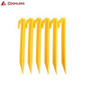 COGHLANS コフラン ABSテントペグ 9インチ 6本セット|aandfshop