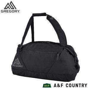 GREGORY グレゴリー スタッシュダッフルDX 45 ブラックは便利で汎用性の高いダッフルバッグ...