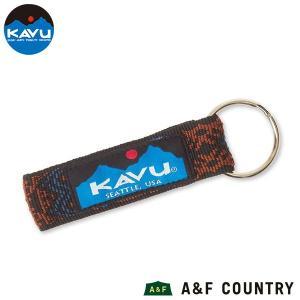 カブー KAVU ロゴキーチェーン デザートラスト|aandfshop