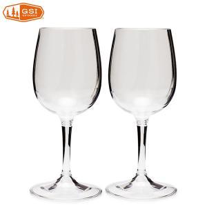 ジーエスアイ GSI ネスティングワイングラス 2個セット|aandfshop