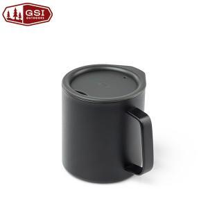 ジーエスアイ GSI グレイシャーステンレスキャンプカップ15 ブラック|aandfshop