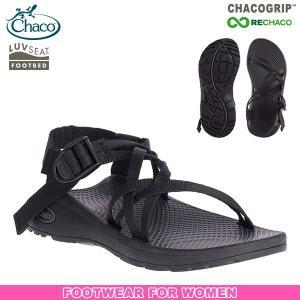 チャコ Chaco ウィメンズ Z クラウドX ソリッドブラック 送料無料 女性用 サンダル スポーツサンダル|aandfshop