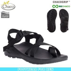 チャコ Chaco メンズ Z クラウド2 ソリッドブラック 送料無料 サンダル スポーツサンダル|aandfshop