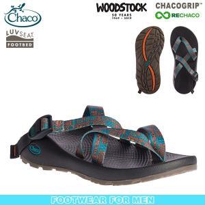 チャコ Chaco メンズ テグ ウッドストック ニューネイティブブルー サンダル スポーツサンダル|aandfshop