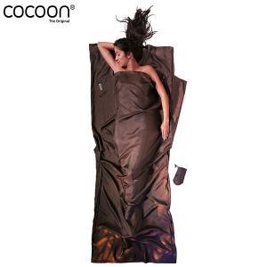 COCOON コクーン ST40 トラベルシーツ シルク Mエレファント 送料無料|aandfshop