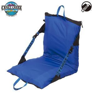 クレイジークリーク CRAZY CREEK エアチェア コンパクト ブラック/ロイヤルブルー 送料無料 椅子|aandfshop