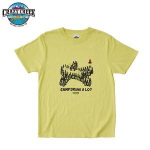 クレイジークリーク CRAZY CREEK メンズ BEERMAN Tシャツ ゴールド|aandfshop