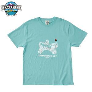 クレイジークリーク CRAZY CREEK メンズ BEERMAN Tシャツ ティール|aandfshop