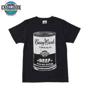 クレイジークリーク CRAZY CREEK メンズ FATCAN Tシャツ ブラック|aandfshop