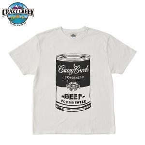 クレイジークリーク CRAZY CREEK メンズ FATCAN Tシャツ ホワイト|aandfshop