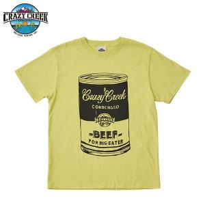 クレイジークリーク CRAZY CREEK メンズ FATCAN Tシャツ ゴールド|aandfshop