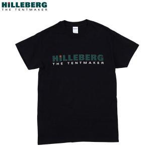 ヒルバーグ HILLEBERG ロゴTシャツ ブラック aandfshop