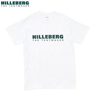 ヒルバーグ HILLEBERG ロゴTシャツ ホワイト aandfshop
