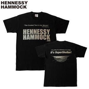 ヘネシーハンモック HENNESSY HAMMOCK ティーシャツ ブラック|aandfshop