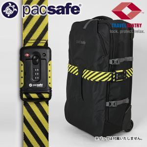 パックセーフ pacsafe TSAストラップセーフ ブラック/イエロー|aandfshop