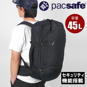 パックセーフ pacsafe ベンチャーセーフEXP45 ブラック 送料無料|aandfshop