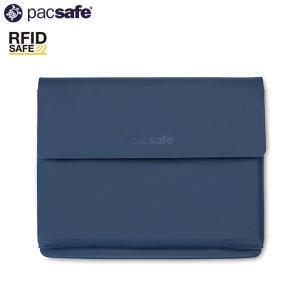 パックセーフ pacsafe RFID パスポートウォレット ネイビー|aandfshop