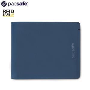 パックセーフ pacsafe RFID バイフォールドウォレット ネイビー|aandfshop