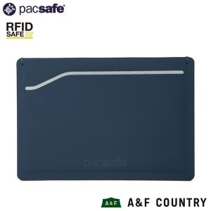 パックセーフ pacsafe RFIDsafe TEC スリーブウォレット ネイビー|aandfshop