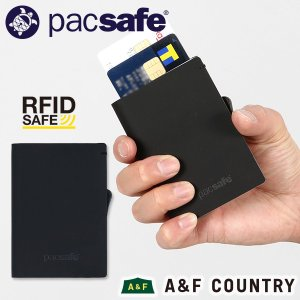 pacsafe パックセーフ RFIDsafe TEC スライダーウォレット ブラック|aandfshop