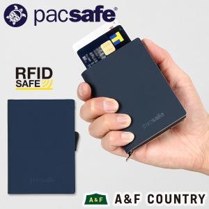 pacsafe パックセーフ RFIDsafe TEC スライダーウォレット ネイビー|aandfshop