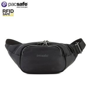 パックセーフ pacsafe ベンチャーセーフX ウェストバッグ ブラック 安全 トラベル セキュリティー 安心|aandfshop