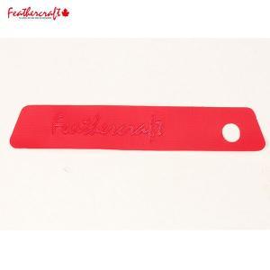 Feathercraft フェザークラフト タグ レッド|aandfshop