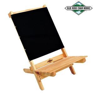 Blue Ridge Chair Works ブルーリッジチェアワークス フェスティバルチェア With ボトルオープナー ブラック 送料無料|aandfshop